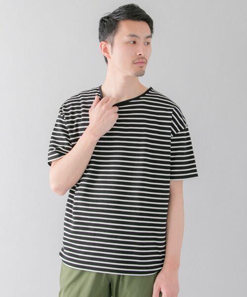 ポンチボーダールーズTシャツ【送料無料】