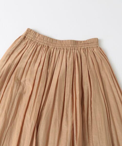 URBAN RESEARCH / アーバンリサーチ スカート | コットンシルクギャザースカート | 詳細18