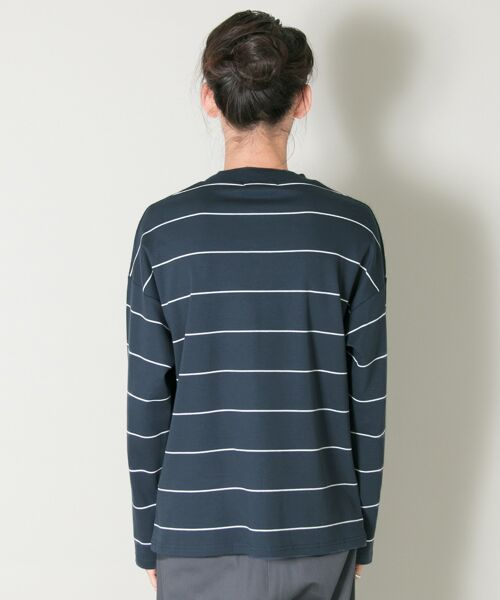 URBAN RESEARCH / アーバンリサーチ Tシャツ | ボーダーバルーンロングスリーブTシャツ | 詳細8
