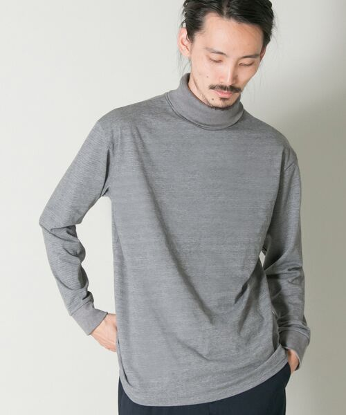 URBAN RESEARCH / アーバンリサーチ Tシャツ | THERMO MAX カットソータートル(グレー)