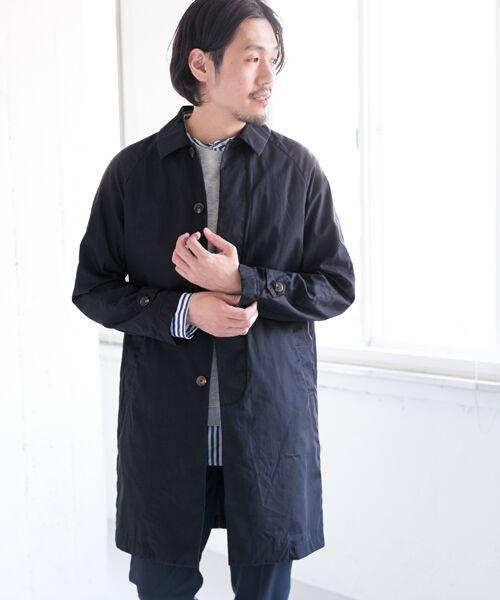 URBAN RESEARCH DOORS / アーバンリサーチ ドアーズ その他アウター | Spring Coat(Navy)