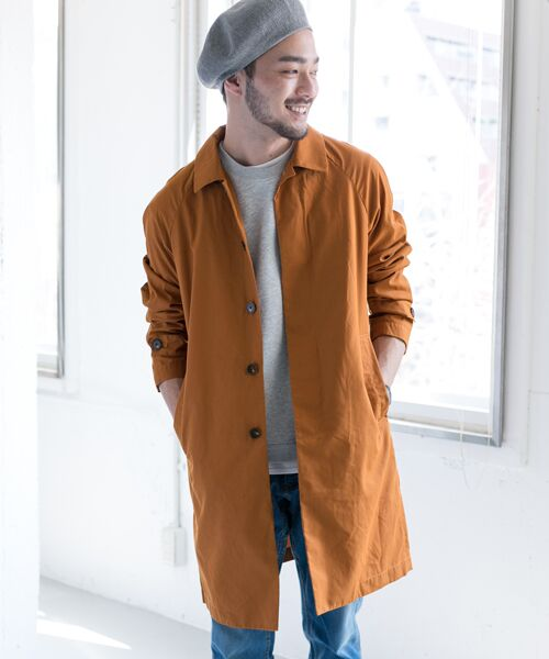 URBAN RESEARCH DOORS / アーバンリサーチ ドアーズ その他アウター | Spring Coat(Teracotta)