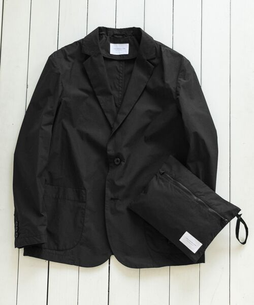 URBAN RESEARCH DOORS / アーバンリサーチ ドアーズ その他アウター | Packable Travel Jacket(Black)
