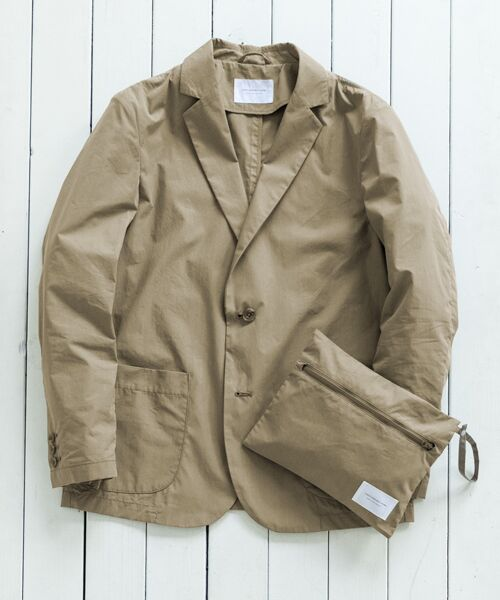 URBAN RESEARCH DOORS / アーバンリサーチ ドアーズ その他アウター | Packable Travel Jacket(Beige)