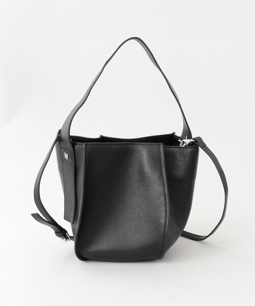 URBAN RESEARCH DOORS / アーバンリサーチ ドアーズ ショルダーバッグ | the dilettante ONE HANDLE POCHETTE(BLACK)