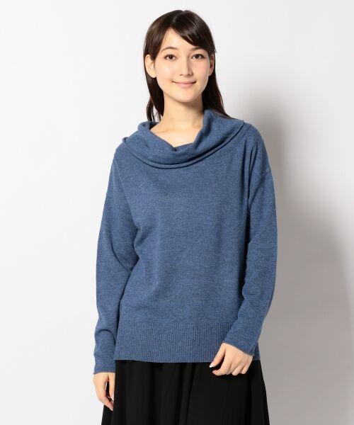 パラダイス2WAYニットプルオーバー【送料無料】